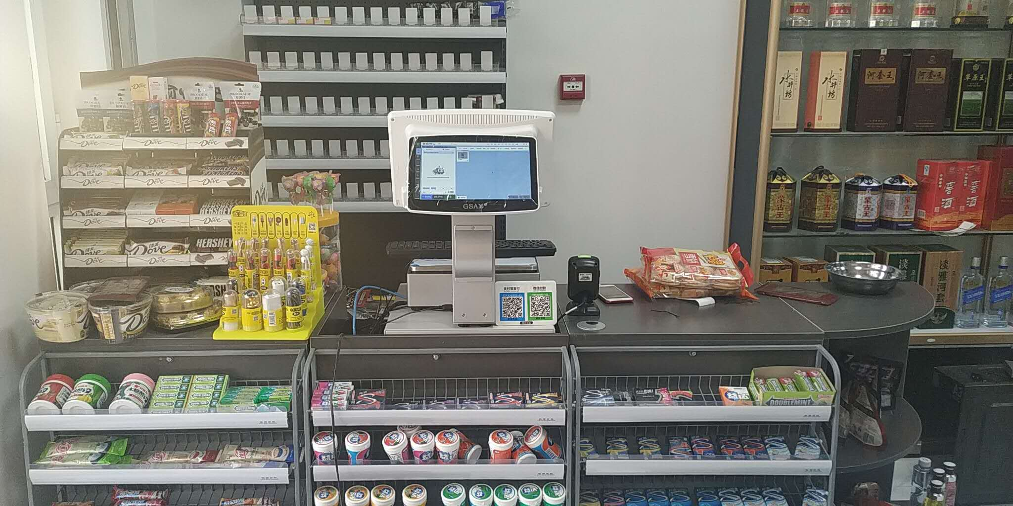 思迅天店收银系统使用案例
